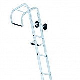 Industrial Roof Ladder 1- Part 17 Rungs 5.55m
