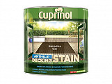 Anti Slip Decking Stain Hampshire Oak 2.5 Litre