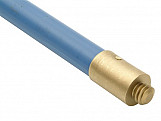 1600 Universal Blue Polypropylene Rod 3/4 x 3ft