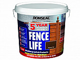 5 Year Weather Defence Fence Life Medium Oak 5 Litre