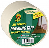 Duck Tape? All Purpose Masking Tape 25mm x 25m Pack of 3