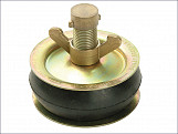 2416 Drain Test Plug 100mm (4in) - Brass Cap