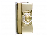 7960B Wired Bell Push Brass