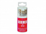 A094 No.413 HSS TiN Coated Drill Set of 13 1.5- 6.50mm x 0.5mm