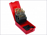 A095 Comp HSS TiN Drill Set of 13 1.0-10 x 0.5mm