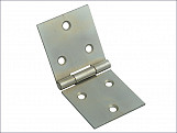 Backflap Hinge Zinc Plated 50mm (2in) Pack of 2
