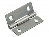 Butt Hinge Polished Chrome Finish 50mm (2in) Pack of 2