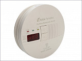Carbon Monoxide Alarm Professional Mains Digital 230 Volt