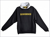Black & Grey Hooded Sweatshirt - L (42-44in)