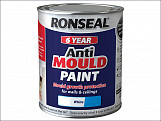 6 Year Anti Mould Paint White Matt 750ml