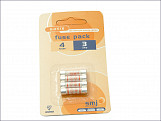 3A Fuses (Pack of 4)