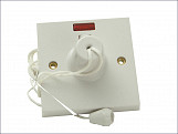 Ceiling Switch & Neon 45A Double Pole