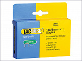 140 Heavy-Duty Staples 6mm (Type T50, G) Pack 2000