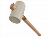954W White Rubber Mallet 74mm 970g