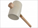 957W White Rubber Mallet 90mm 1450g