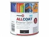ALLCOAT? Exterior Black Primer / Finish 1 Litre