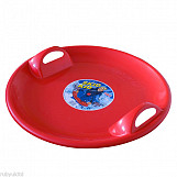 Skid Kid Round Snow Sledge Red Great Christmas Gift!