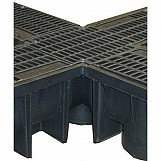 Clark Drain Quadbox Corner Unit Piece CD406 Suitable for CD422/96 Pvc Drainage Drain Channel