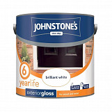 Johnstone's Paint Exterior Gloss 2.5L Brilliant White
