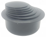 Dark green  Colour Gutter Down Pipe Downpipe Downspout Reducer 110mm to Any Size Reduction Guttering Fittings