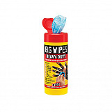 Big Wipes 2029 1460 Red Top Heavy-Duty Wipes Tub Of 40