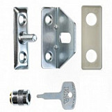 ERA 828-52 Locking Window Catch With Key Satin