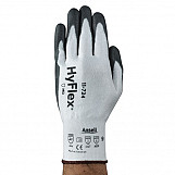 Ansell AN11-724L Hyflex Gloves Medium Duty Cut Resistant Size 9 Large