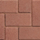 Red Block Paving 50mm (Per Each)