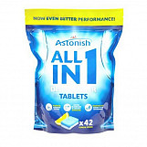 Astonish C2170 All In 1 Dishwasher Tablets Pack Of 42