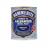 Hammerite DGBL750 Direct To Galvanised Metal Paint Blue 750ml