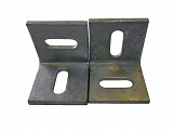 2 X 50MM Galvanized Angle Cleats