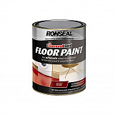 Ronseal 36108 Diamond Hard Floor Paint Tile Red 5 Litre