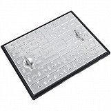 Clark Drain Manhole Cover 663 x 513 x 30mm 10T  Galvanised Steel PC6CG