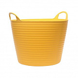 14 Litre Flexi Tub Bucket Yellow