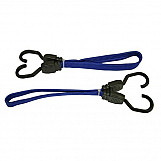 Faithfull FAITDBUNG18 Flat Bungee Cord 46cm (18in) Blue 2 Piece