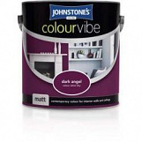 Johnstone's Paint Colourvibe Matt 2.5L Dark Angel