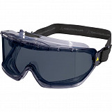 Delta Plus GALERAS Polycarbonate Safety Goggles - Smoke