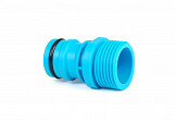 "1"" thread male tap connector - 1"" 1inch quick connect heavy duty hose system quickfit"