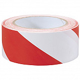 Draper 69010 33M X 50mm Red And White Hazard Tape Roll