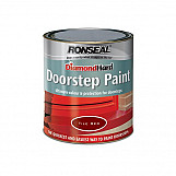 Ronseal 36257 Diamond Hard Doorstep Paint Black 750ml