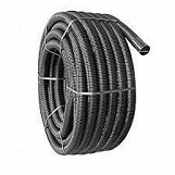 Cable Ducting Black Electrical 110mm x 50m