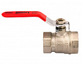 "1"" Inch BSP Water Lever Type Ball Valve Female Red Handle Quarter Turn"
