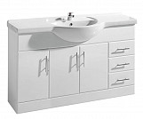 Eastgate Basin Unit 800mm H x 1200mm W - High Gloss White