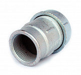 "1 1/2"" bsp female thread x 50 mm pipe compression joint fittings connector union"