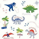 21620 Arthouse Wallpaper Dino Doodles Multi 667500