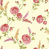 21956 Sophie Conran Posie Wallcoverings Crimson 950808