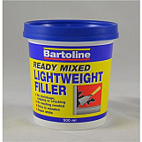 Bartoline 52741000 Ready Mixed Lightweight Filler 1 Litre