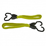 Faithfull FAITDBUNG36 Flat Bungee Cord 91cm (36in) Yellow 2 Piece