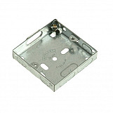 SMJ MBB16S Metal Box 1 Gang 16mm Depth - Loose