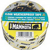 Everbuild 2CLEAR10 Clear Weatherproof Tape 50mm X 10 Metre